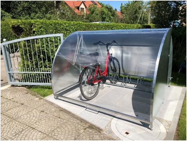 Fahrradgarage abschließbar